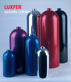 Range of specialty automotive cylinders from Luxfer Gas Cylinders